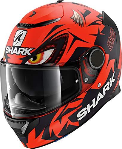 Shark Casco integral Spartan Replica Lorenzo Austrian GP rojo negro RK