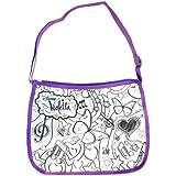 Smoby - 86103 - Loisirs Créatifs - Sac Tendance Xl - Violetta - Color Me Mine - Modèle aléatoire