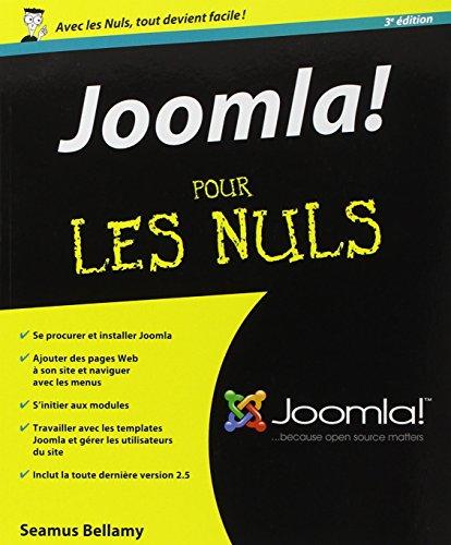 Joomla 3e Pour les Nuls par Seamus BELLAMY