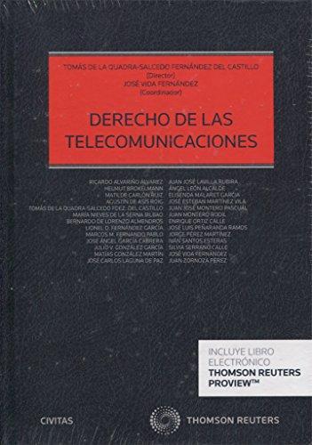 Derecho De Las Telecomunicaciones (Civitas) (Estudios / Comentarios Leg)