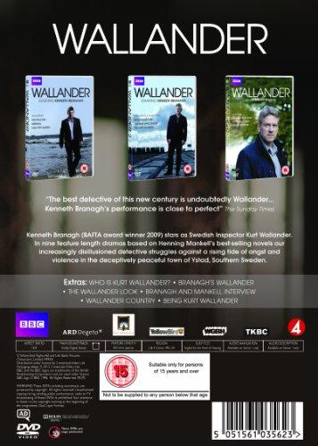 Wallander: Series 1-3 [6 DVDs] [UK Import]: Alle Infos bei Amazon