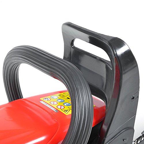 HECHT Benzin-Kettensäge 44 Motorsäge Benzin (2-Takt-Motor mit 2,7 PS, 40cm Schwertlänge) - 6