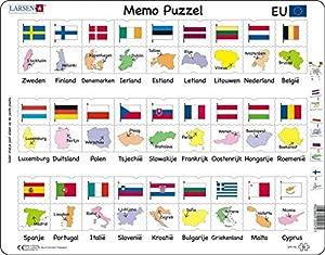 Larsen Maxi LA-GP2-NL Puzzle - Rompecabezas (Rompecabezas de Figuras, Niños, Niño/niña, 3 año(s), Interior, Cartón)