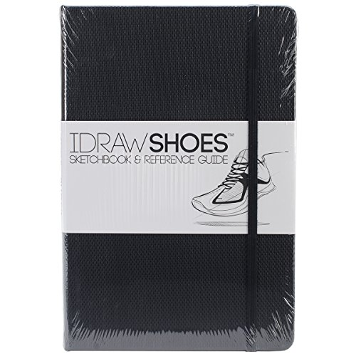 idraw-shoes-sketchbook-reference-guide-black