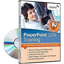 PowerPoint 2016 Training - In 8 Stunden PowerPoint sicher anwenden [1 Nutzer-Lizenz]
