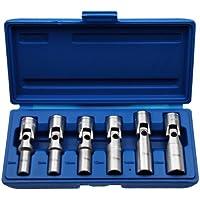 'Candelette speciali da inserti in acciaio cromo vanadio, Bussola 8–16mm 3/8unità 6pezzi (motore di manutenzione riparazione strumento)