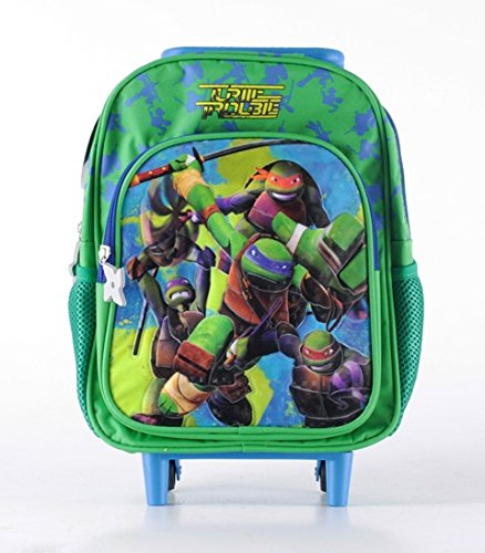 Zaino asilo trolley disney tartarughe ninja teenage mutant ninja turtles