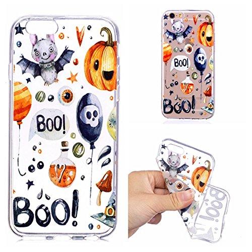 iPhone 6s Hülle, iPhone 6 / iPhone 6s Schutzhülle, Anti-Scratch FeinMatt FederLeicht Hülle Bumper Cover Schutz Tasche Schale Softcase für iPhone 6 / iPhone 6s - Halloween ()
