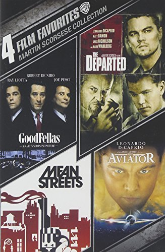 4 Film Favorites: Martin Scorsese (Goodfellas, The Departed, The Aviator, Mean Streets: Special Edition) by Robert De Niro