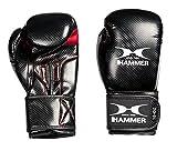 Hammer Damen Boxhandschuhe Handschuhe X-Shock Lady, Schwarz/Rot, 8 oz, 95508