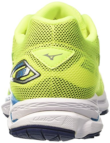 Atomicblue Wave Da Corsa Mizuno Bluedepths safetyyellow Pilota Uomo Scarpe Multicolore FPp81q