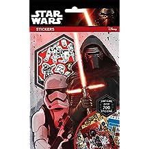 Star Wars La guerra de las Galaxias 700 piezas Pegatinas, Multi-color
