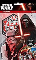 Star Wars Force Awakens Set of 700 Stickers 9 Sheets Xmas Gift Party Bag - Star Wars Force Awakens Stickers - 700+ - 9 Sheets of Stickers - Hours Of Fun - Fully Licenced Product