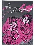Undercover MH13096 - Freundebuch A5 Monster High