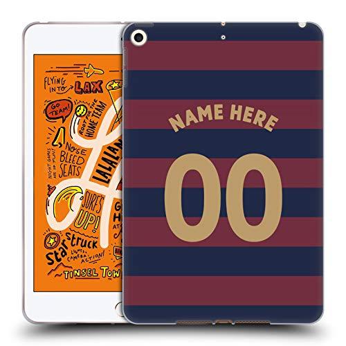 Head Case Designs Personalisierte Individuelle Newcastle United FC NUFC Away Kit 2018/19 Crest Soft Gel Huelle kompatibel mit iPad Mini (2019) -