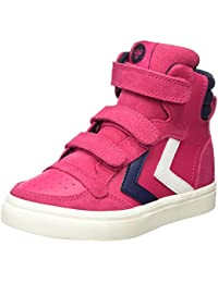 Hummel Stadil Leather Jr, Sneakers Hautes Fille