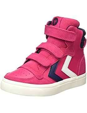 Hummel Stadil Leather Jr, Zapatillas Altas Niñas