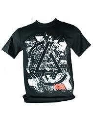 LINKIN PARK Herren T-Shirt Schwarz Iridescent Large Size L