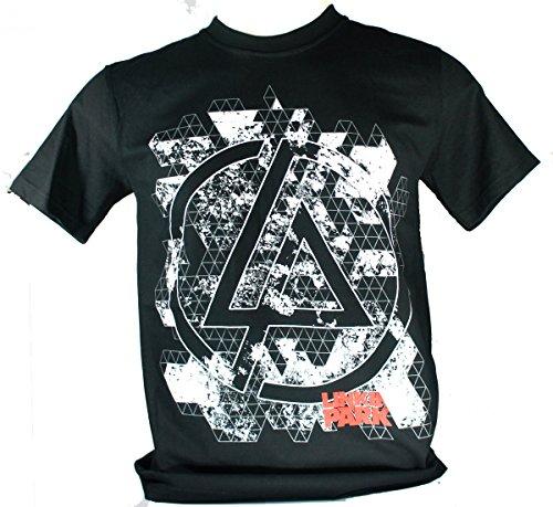 Linkin Park-Maglietta da uomo nero iridescente Medium Size M