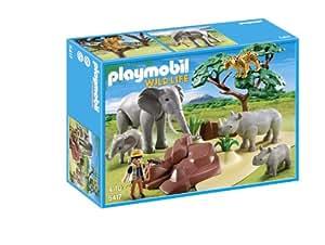Playmobil - 5417 - Figurine - Animaux De La Savane Avec Photographe