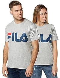 Fila Classic Logo T-shirt light grey melange