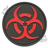 Biohazard Red & Black Patch