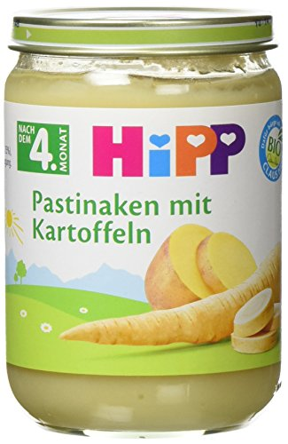 Preisvergleich Produktbild HiPP Pastinaken mit Kartoffeln Bio,  6er Pack (6 x 190 g)