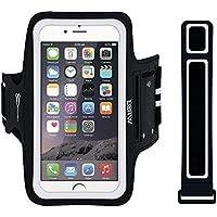 EOTW Sportarmband Handyhülle universell Passend für Huawei P20, Samsung Note 4, Sony Xperia Z5 usw, Handytasche für Laufen und Joggen (5,5 Zoll, Schwarz)