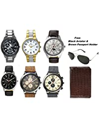 Rico Sordi set of 6 watch with sunglass and passport holder
