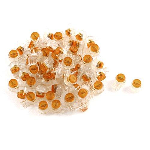 sourcingmapr-50pcs-uy-2-wire-single-flake-gel-splice-crimp-connector