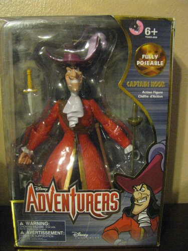 ully Poseable Captain Hook by Disney ()