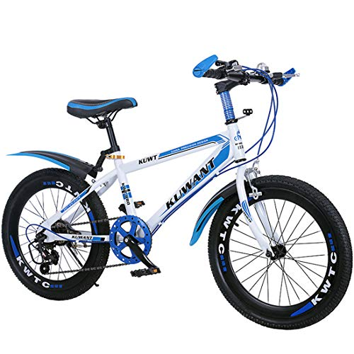 GRXXX Mountainbike Fahrrad Geschwindigkeit Student Offroad Racing Erwachsene Männer und Frauen 18 Zoll,Blue-18 inches -