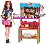 Barbie FJB27 Berufe Spielset Marktstand