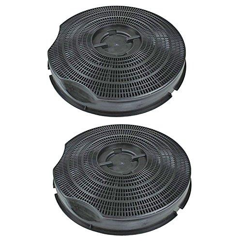 Spares2go Tipo 30carbono carbón ventilación filtro