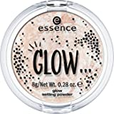 Essence GLOW ... setting powder Nr. 01 like a jewel on the crown Inhalt: 8g sedig-weiches, fixierendes Puder für einen natürlichen Glanz den ganzen Tag. Highlighter