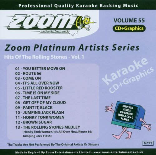 Preisvergleich Produktbild Karaoke Cdg - Hits of the Rolling Stones,  Vol 1