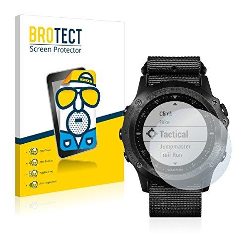 2X BROTECT Matt Bildschirmschutz Schutzfolie für Garmin Tactix Bravo (matt - entspiegelt, Kratzfest, schmutzabweisend)
