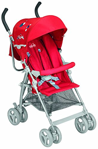 Lightweight And Compact Baby Stroller Agile C47 ROSSO Cam