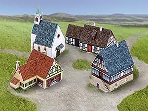 """aue-verlag 15x 21x 12cm village Ensemble """"modèle Kit (Petit)"""