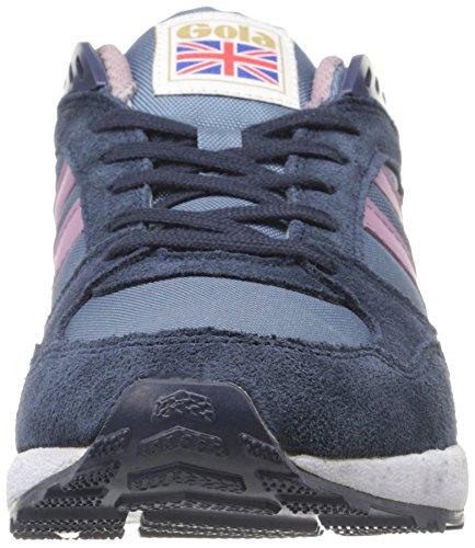 Gola - Shinai, Sneakers da donna grigio (Flint/Navy/Lilac)