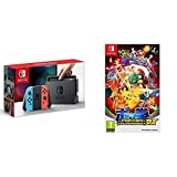 Nintendo Switch - Consola color Azul Neón/Rojo Neón + Pokkén Tournament DX