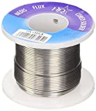 HQ TIN 100GR, Rotolo Stagno per Saldature, Diametro 1mm, Argenteo