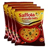 #3: Big Bazaar Combo - Saffola Masala Oats, Masala and Coriander, 40g (Buy 3 Get 1, 4 Pieces) Promo Pack
