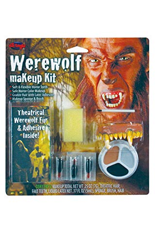 Komplett Make Up Kit Werwolf