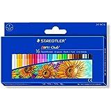 Staedtler 241NC16 - Ceras blandas, Caja con 16 colores surtidos