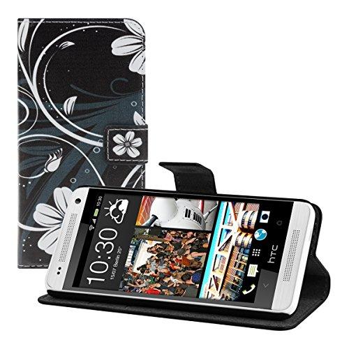 kwmobile HTC One Mini 2 Hülle - Kunstleder Wallet Case für HTC One Mini 2 mit Kartenfächern und Stand