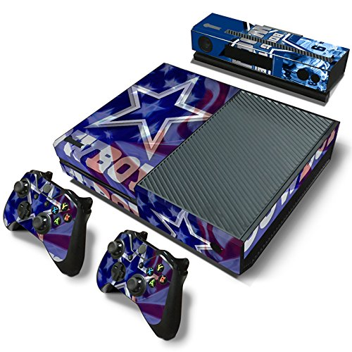 GameCheers Xbox One Konsole and 2 Controllers Skin Set - Football NFL - PlayStation 4 Vinyl
