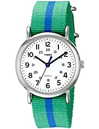 Timex Unisex-Armbanduhr Analog Quarz Nylon T2P143PF