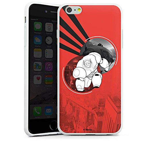 Apple iPhone X Silikon Hülle Case Schutzhülle Disney Baymax Merchandise Silikon Case weiß