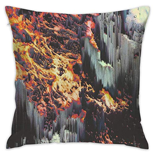 KLYDH Ascend 09 Home Decorative Throw Pillow Case Cushion Cover for Gift Home Couch Bed Car,Cover Size:18 x 18 Inch(45cm x 45cm) - Ascend Collection